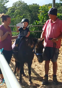 Parents and child at RDA Ballina