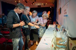 A plethora of treats for silent auction snapped up by our wonderful guests