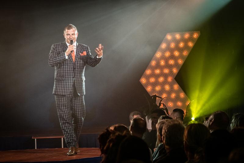 Cabaret Cheeky Director extraordinaire Mr Brett Haylock - what a show!