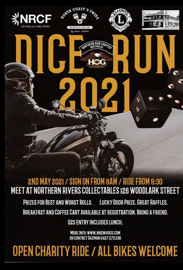 HOGS Dice Run 2021